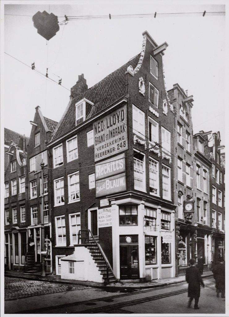 Vijzelstraat rond 1917