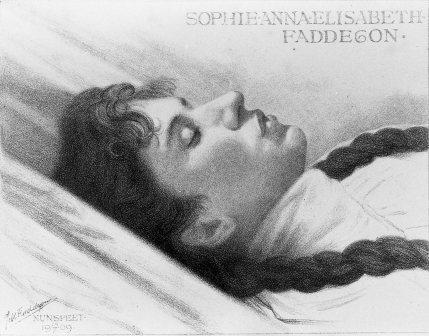 Sophie op haar sterfbed