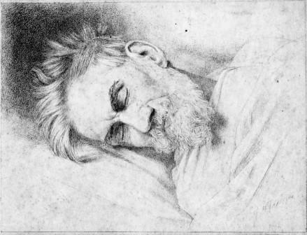 Barend Abraham op sterfbed