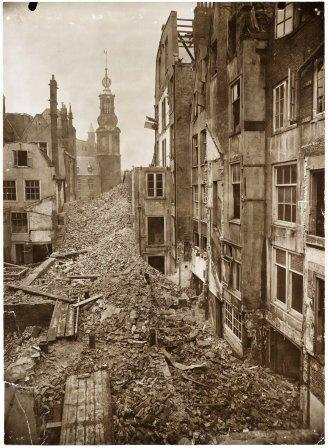 sloop Vijzelstraat 1917