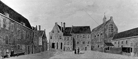 Weeshuis in klooster Mariënborg - eind 18e eeuw