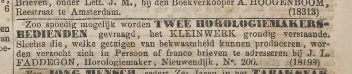 Algemeen Handelsblad 10 nov. 1852