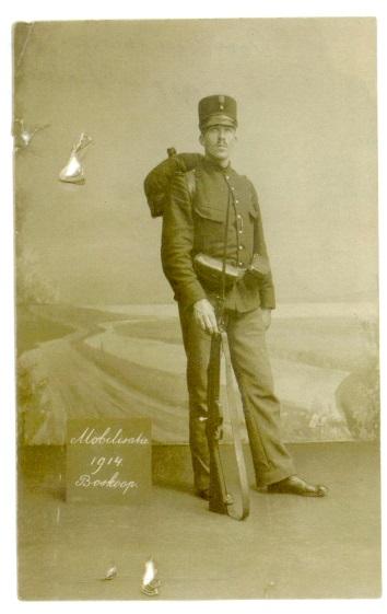 Cornelius Johannes (Kees) Faddegon - 1914