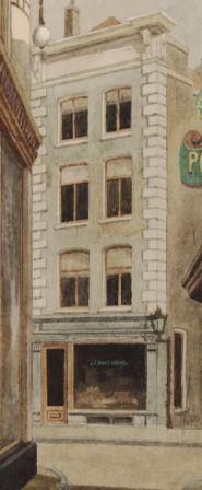 Kalverstaat 59 rond 1906 (foto Stadsarchief)