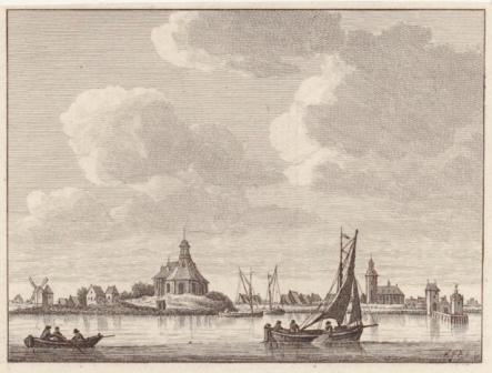 Willemstad rond 1800