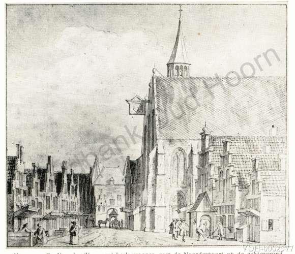 Hoorn - Kleine Noord ca.1820-1850