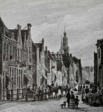 Kleiweg Gouda ca. 1850