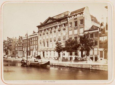 1870 Kloveniersburgwal 13 tot 35
