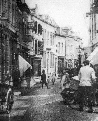 Hoogstraat Vlaardingen 1910