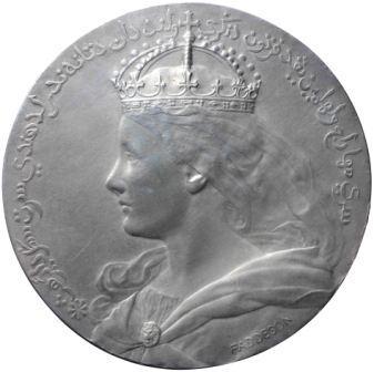 Wilhelmina-penning 1902