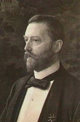 prof.Jan Six in 1902 (door Jan Veth)