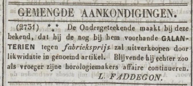 uitverkoop galanterieën (okt.1846)