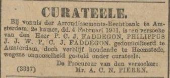 Curatele Philippus Faddegon