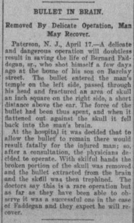 the Barre Daily Times - 17 april 1909