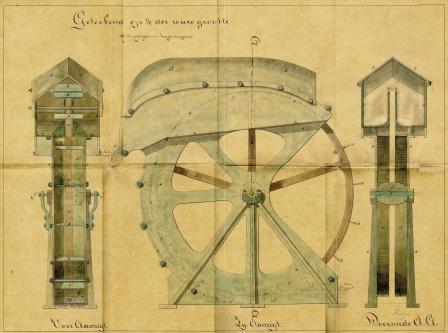 verbeterd scheprad door L.Faddegon 1866