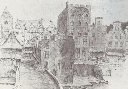 westzijde Oudegracht en deel v.d. Snippenvlucht